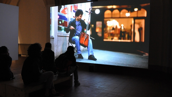 Installation view Angelice Mesiti: Citizens Band