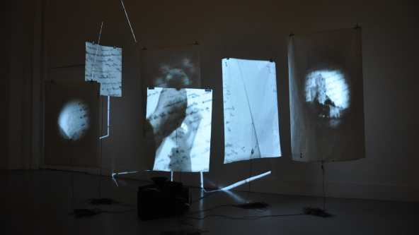 Kristin Tårnesvik & Espen Sommer Eide: Korsmos Ugress Arkiv (2012-2015) Installation view